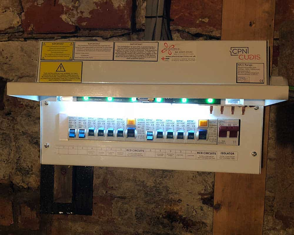 Fuse board replacement manchester