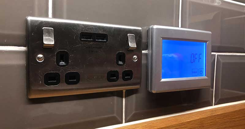 sockets switch lights
