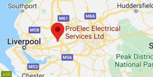 "ProElec Electrical Services Ltd, C9XC+M2 Newton-le-Willows 53°27'16.7""N 2°38'04.4""W"